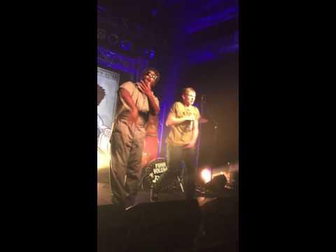 Jarren Benton Brings Isaiah Becker up on Stage to Preform Skitzo