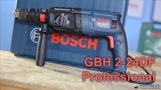 Обзор перфоратора Bosch Professional GBH 2-24DF
