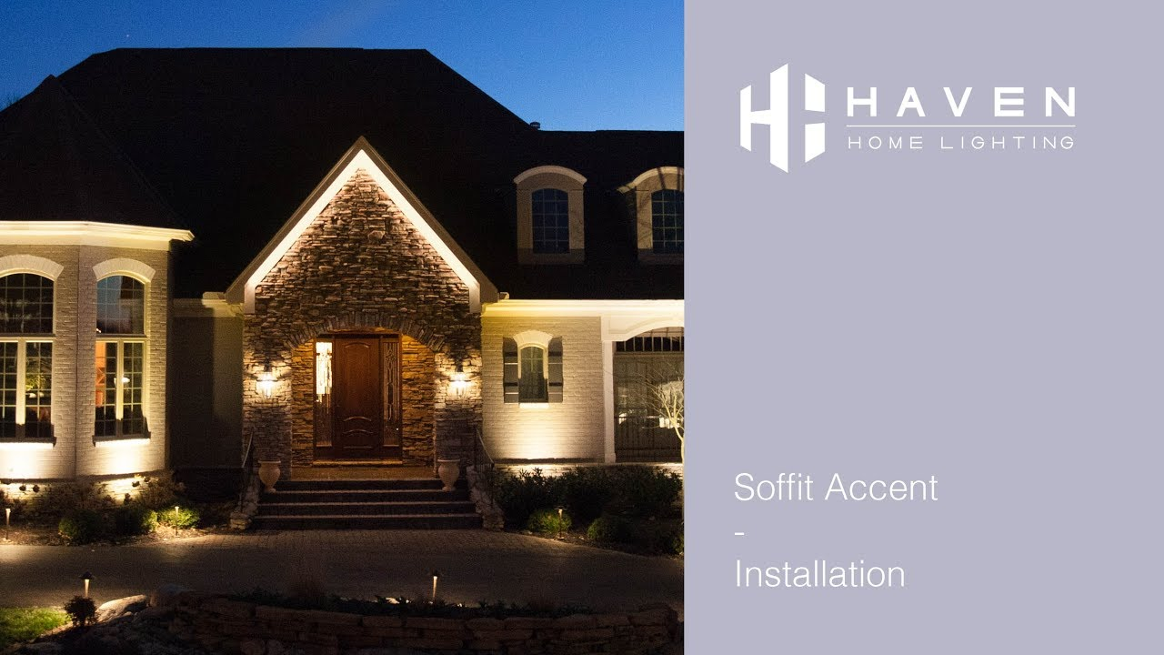 soffit accent installation haven lighting