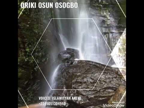 Download ORIKI OSUN OSHOGBO
