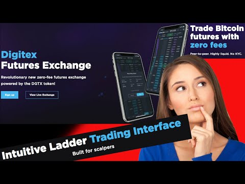 Digitex Futures Exchange Review! 1.4 Million DGTX Tokens Give Away To Traders! Crypto Trading Ladder