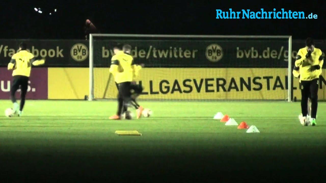 Mats Hummels wieder im BVB-Mannschaftstraining (28. November)