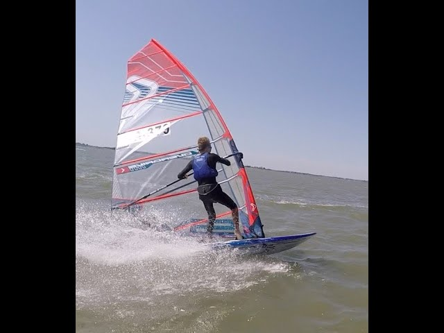 Slalom with the new SEVERNE