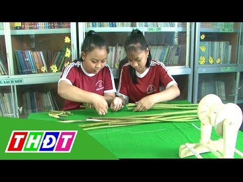 Hai học sinh lớp 9 với ý tưởng chiết xuất tơ sen | THDT