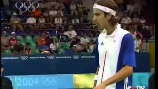 2004 Athens Olympic Badminton Mixed Double Final - China Vs England