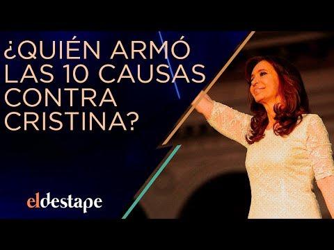 ¿Quién armó las diez causas contra Cristina? | El Destape con Roberto Navarro EN VIVO