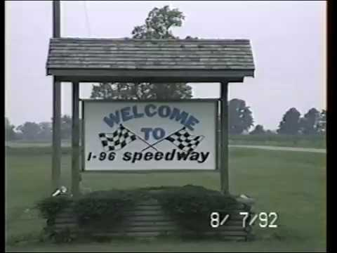 Michigan Track Hunt Stop #8- I-96 Speedway - August 7, 1992