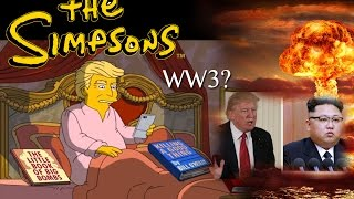 The Simpsons STRIKE Again! TRUMP 100 Days Forecast Unprecedented EVENTS AHEAD!