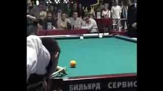 Русский Бильярд, Сталев - Сагындыков, 2004