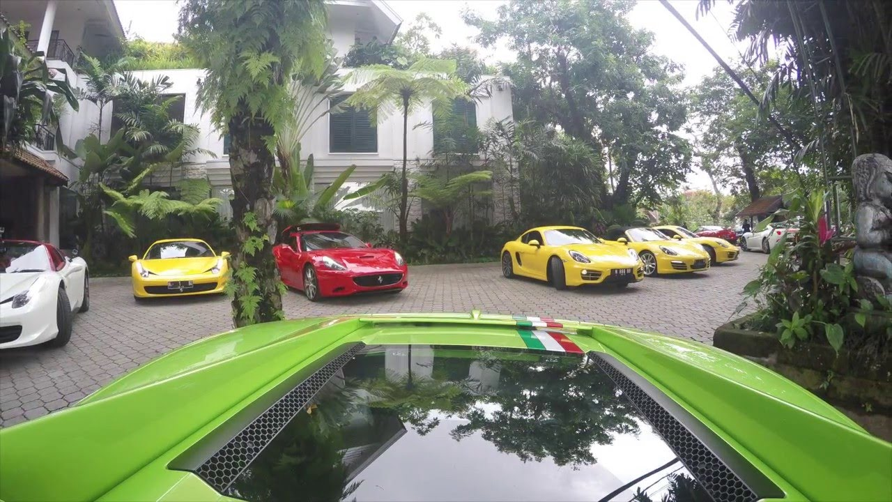 Gathering Ferrari Lamborghini Supercar Owner Indonesia Auto