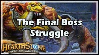 [Hearthstone] The Final Boss Struggle