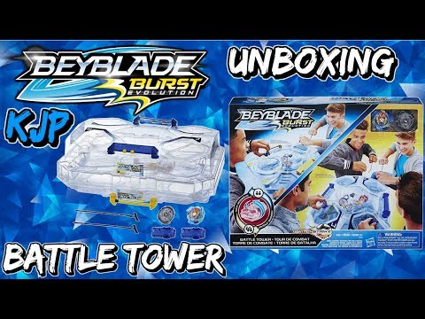 Battle Tower (Unboxing, Assembly, QR Codes, Review, & Battles!)