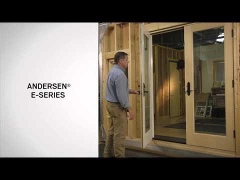 Identifying the Series of Andersen® Hinged Patio Doors