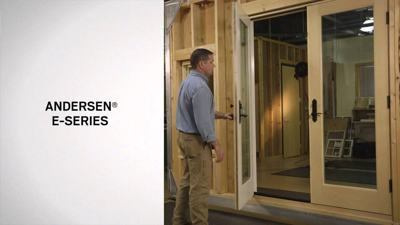 Identifying The Series Of Andersen® Hinged Patio Doors   YouTube