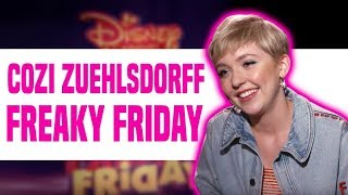 Disney Channel 'Freaky Friday' Star Cozi Zuehlsdorff Talks About the Movie
