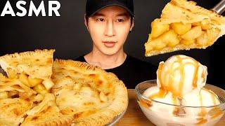 ASMR APPLE PIE & ICE CREAM MUKBANG (GORDON RAMSAY RECIPE) COOKING & EATING SOUNDS | Zach Choi ASMR
