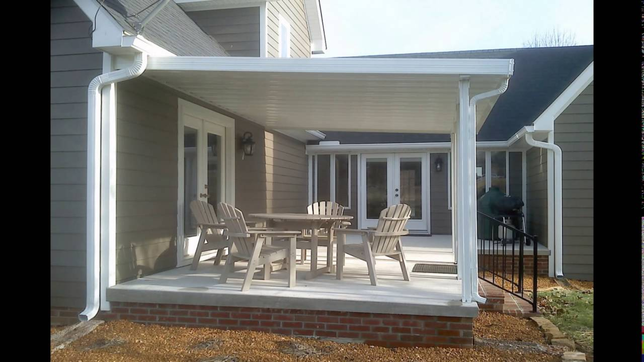 metal patio covers awnings aluminum patio covers - YouTube