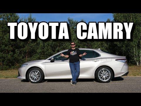 Toyota Camry - wielki powrót? (PL) - test i jazda próbna