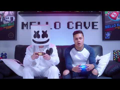 Playing OVERCOOKED with MessYourself | Gaming with Marshmello |