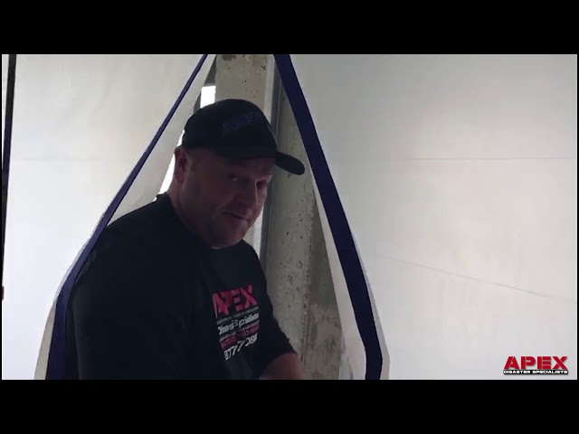 Apex On The Job - Hurricane & Water Damage Follow-up