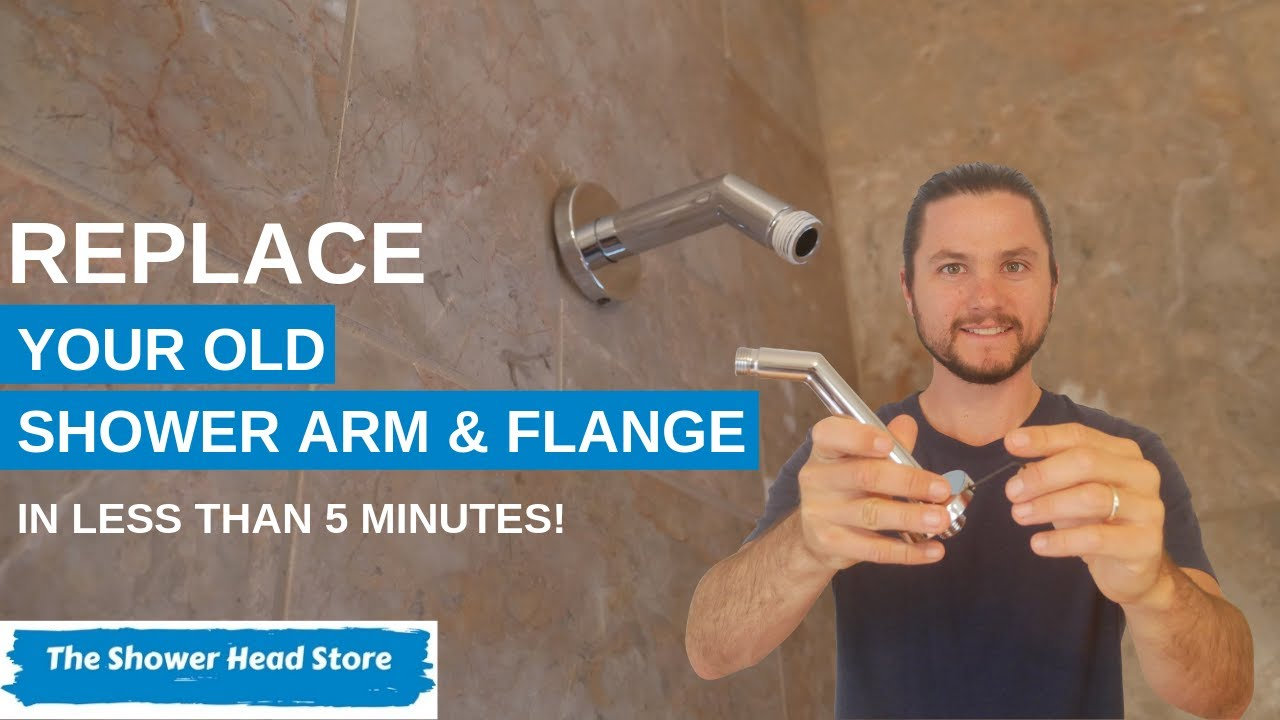 How To Change A Shower Arm And In 5 Minutes
