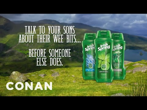 Irish Spring's Social Issue Ad - CONAN on TBS