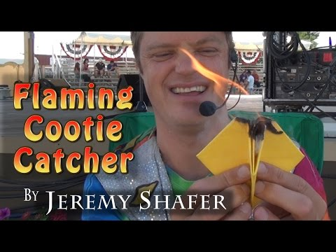 Flaming Cootie Catcher