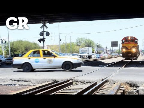 'Chocan' Con Tren Abandono E Imprudencia | Monterrey