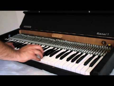 DEMO HOHNER PIANET T ELECTRIC PIANO