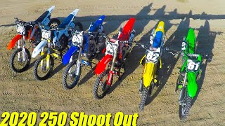 Motocross Action's 2020 250 Shoot Out