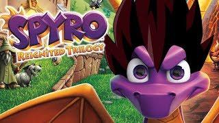 Vegyro The Dragon(ball) | Vegeta Plays Spyro Reignited Trilo...