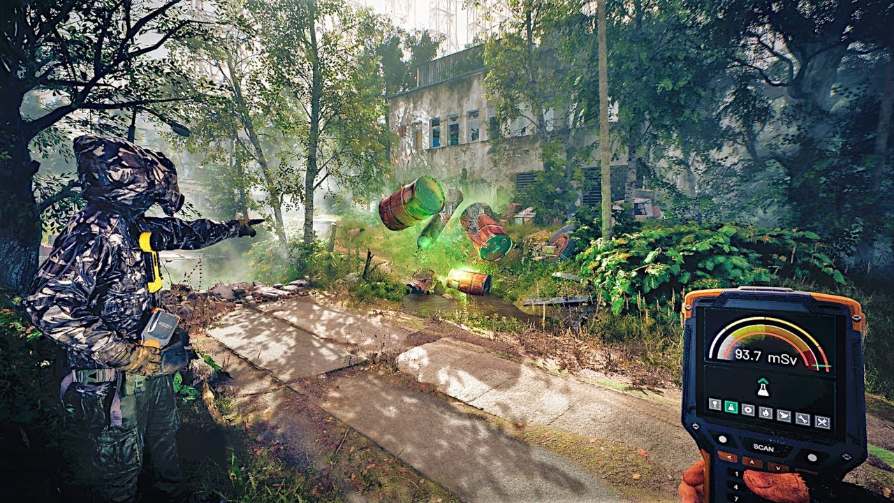CHERNOBYLITE Gameplay Demo (Open World Survival Horror Game 2019 ...