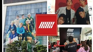iKON POP-UP STORE (One way to enter fan signing events)