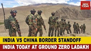 Indian Army's Big Deployment Amid Ladakh Standoff; India Today At Ground Zero At Ladakh