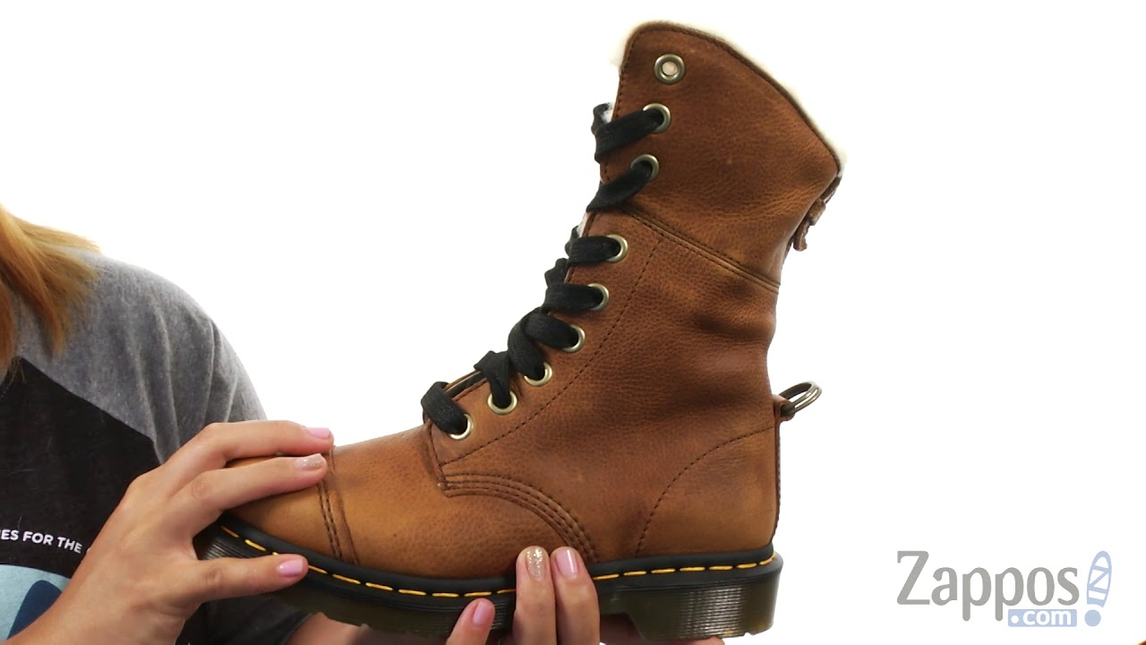 Dr. Martens Aimilita 9 Eye Toe Cap Boot SKU: 8963871