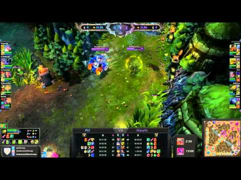 LoL Tourneys Tournament Vod - Paranoia Galaxy Force vs Disparity Gaming