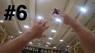 Volleyball GoPro #6: Jump Serving and a little bit of hitting/spiking