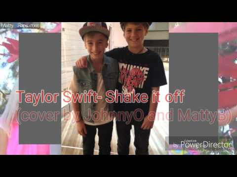 Taylor Swift - Shake it off (cover by JohnnyO and MattyB)