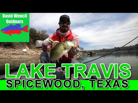 Bass Fishing Lake Travis February 2020