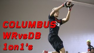 Columbus WR vs DB 1 on 1