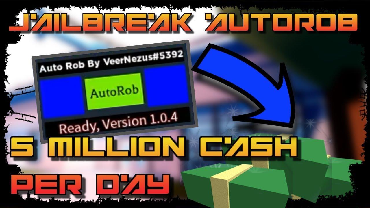 July 10 2020 Roblox New Jailbreak Auto Rob Hack Script