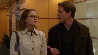 exclusive melissa benoist and real life husband blake jenner act together again on supergirl