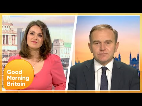 Susanna Challenges Environment Secretary On Why UEFA VIPs Are Exempt From Some Restrictions | GMB