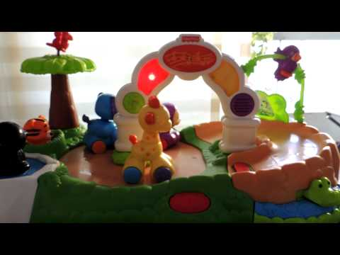 fisher price jungle zoo de animalitos