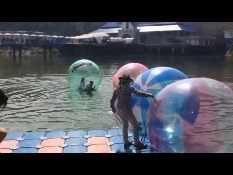 สครามลูกบอลน้ำ สวนสัตว์เชียงใหม่
