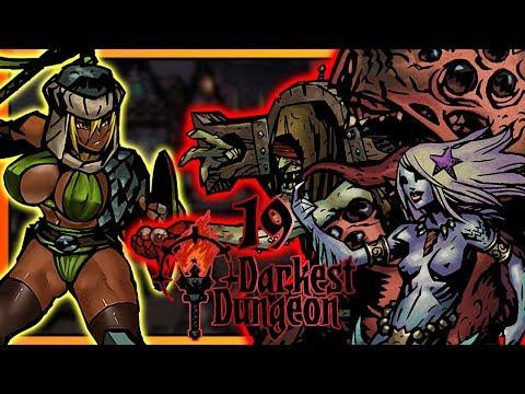 Darkest Dungeon Прохождение [19] Плоть, Пророк, Сирена (Темнейшее Подземелье)