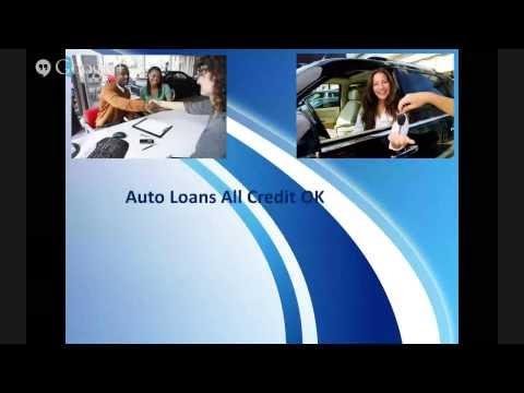 Bad Credit Auto Loans Car Loans Explained