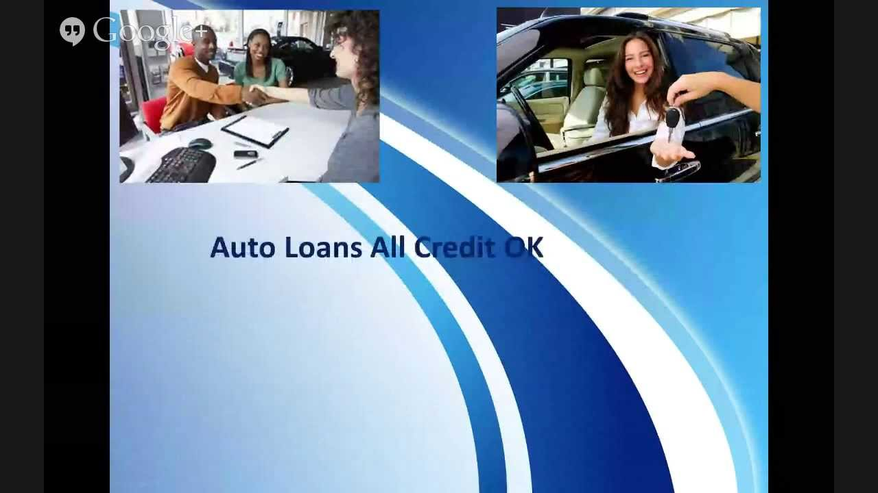 Bad Credit Auto Loans Car Loans Explained - YouTube