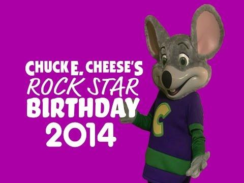 Chuck E. Live - Rock Star Birthday (2014)