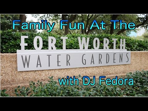 Fort Worth Water Gardens - A World Famous Water Fountain Park
